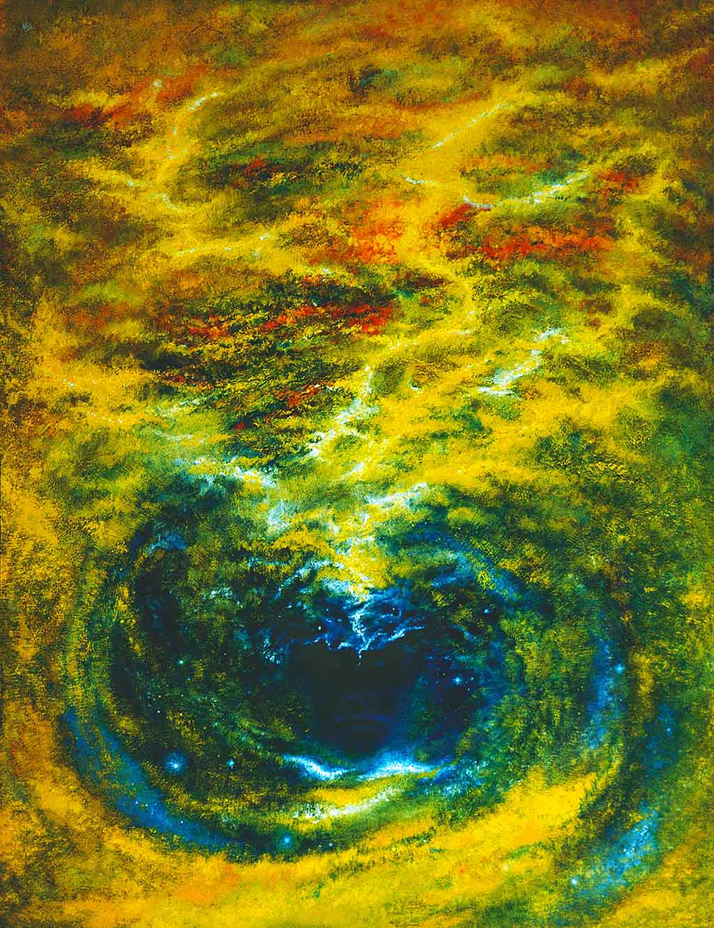 Paintings of Creation express the relationship of Man to Cosmos