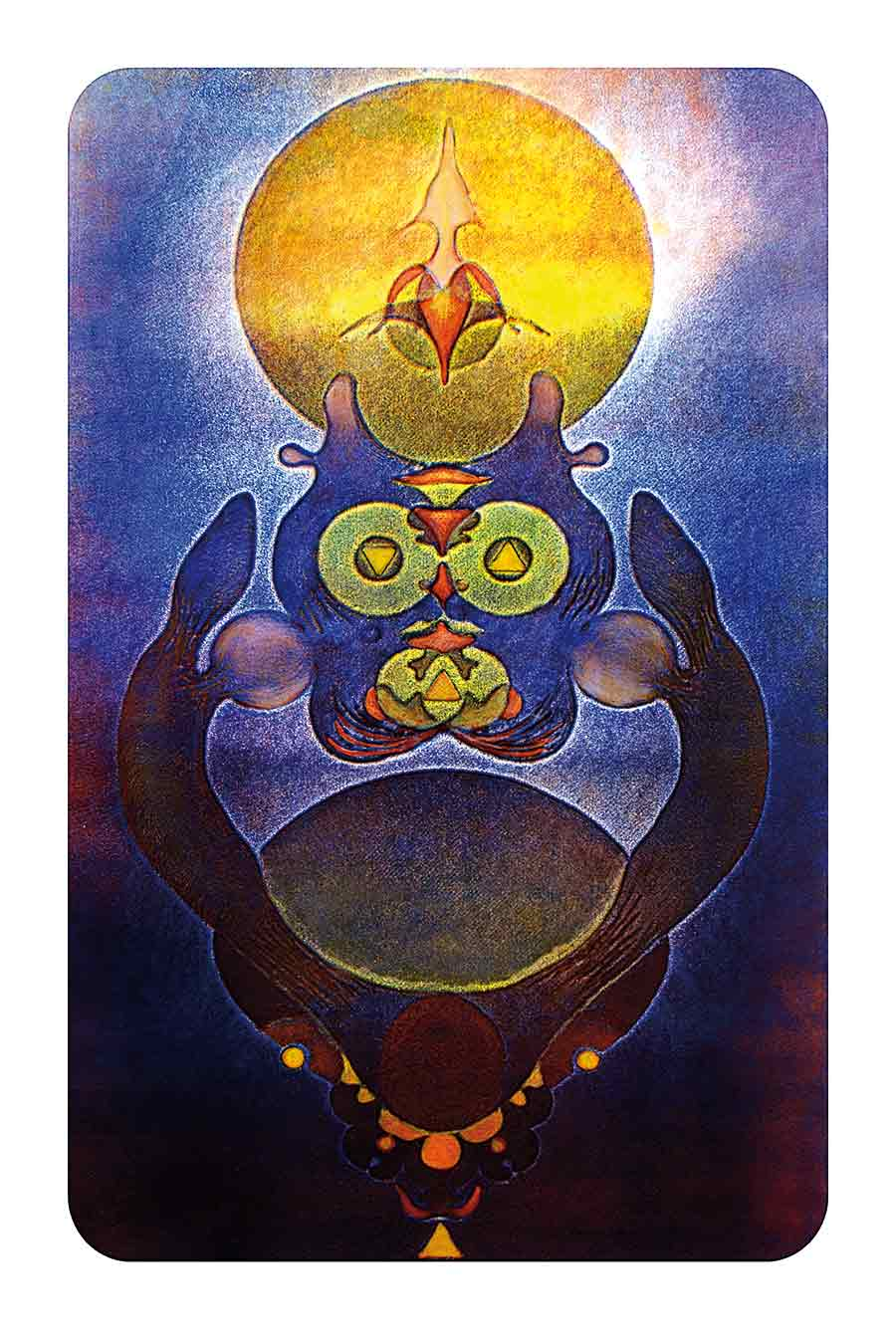 Totem, original Print-Painting and Art Print by Wieslaw Sadurski