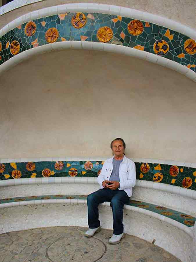 Park Guell, I rest in beauty, photo of Wieslaw Sadurski