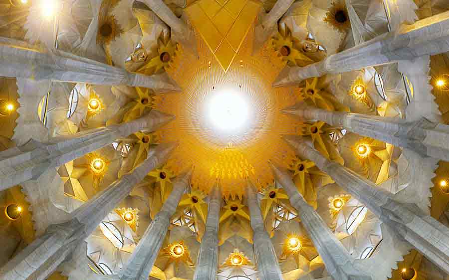 Antoni Gaudi Sagrada Familia, photo by Wieslaw Sadurski