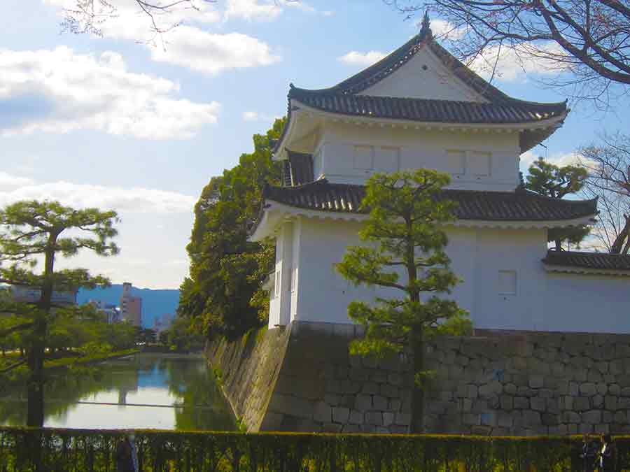 Nijo-jo Castle in Kyoto, photo