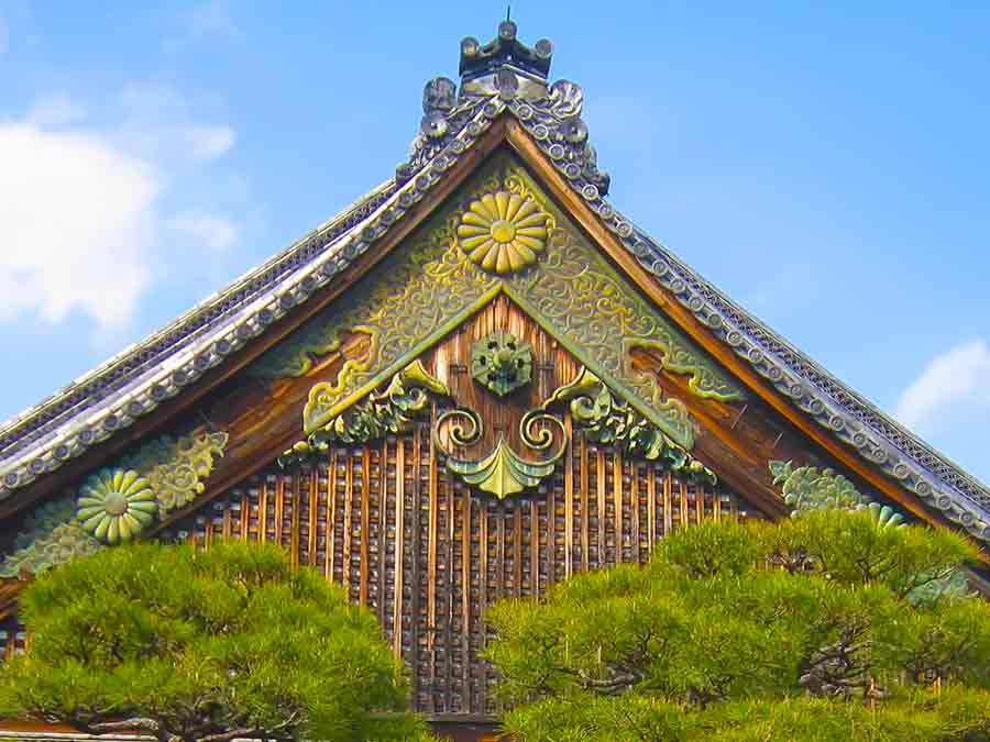 Nijo-jo Castle in Kyoto, photo by Wieslaw Sadurski