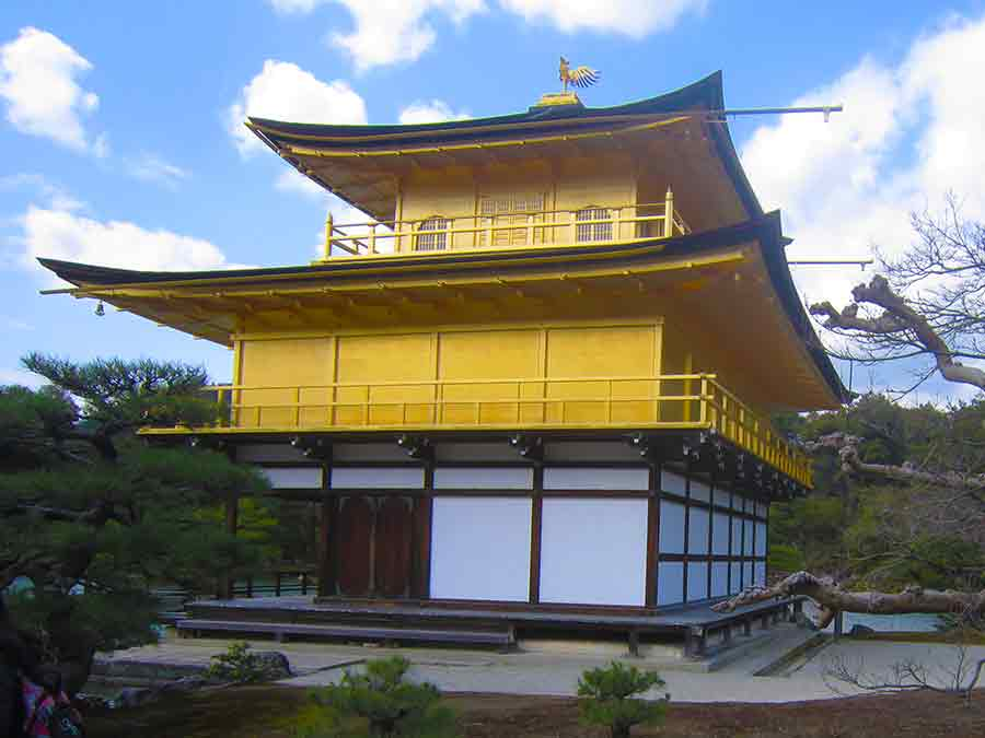 Kinkaku-ji Temple, photo by Wieslaw Sadurski