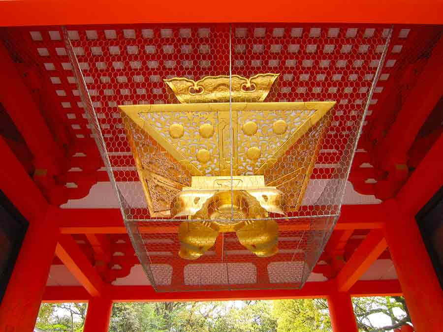 Yasaka-Jinja Shrine in Kyoto, photo by Wieslaw Sadurski