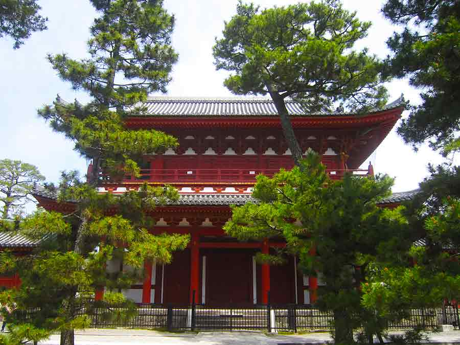 Myoshin-ji Temple Hatto, photo by Wieslaw Sadurski