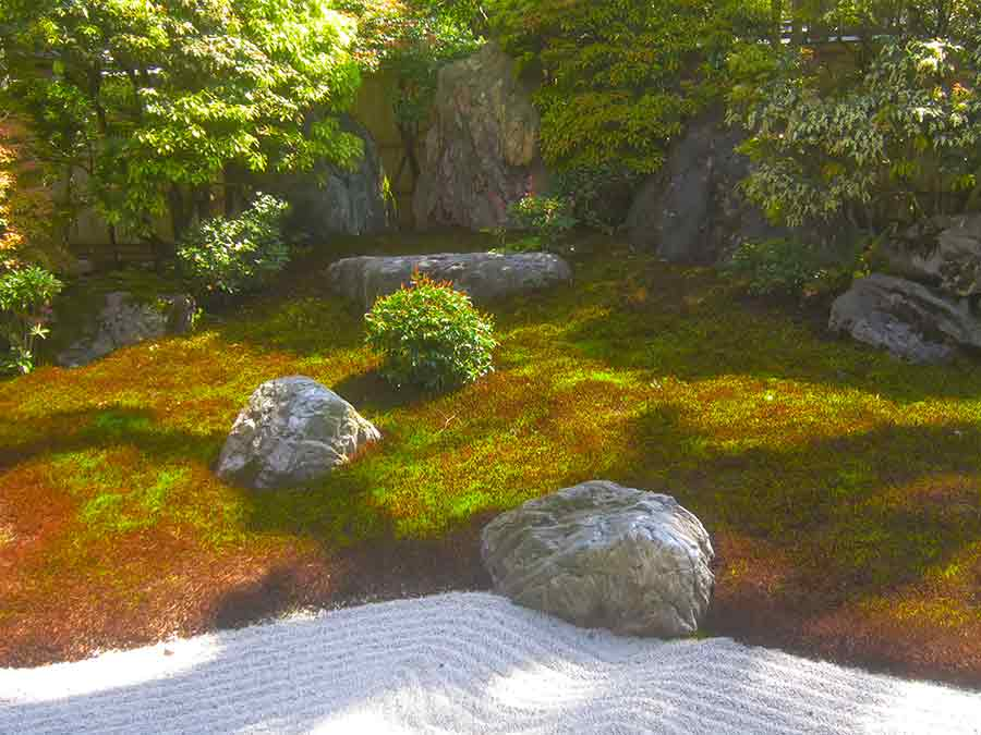 Daishin-in Myōshin-ji Zen Garden, photo by Wieslaw Sadurski